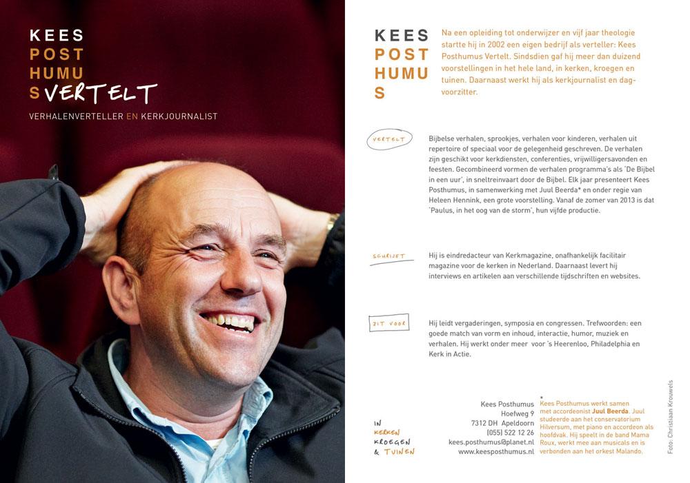 Flyer Kees Posthumus-0