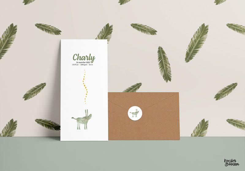 geboortekaartje-ezeltje-groen-kaart-kraft-envelop-portfolio