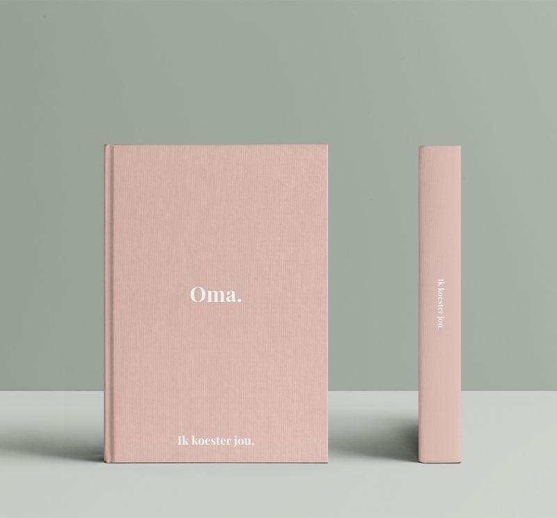 Koesterboek-voorbeeld-oma-roze-koesterbooster