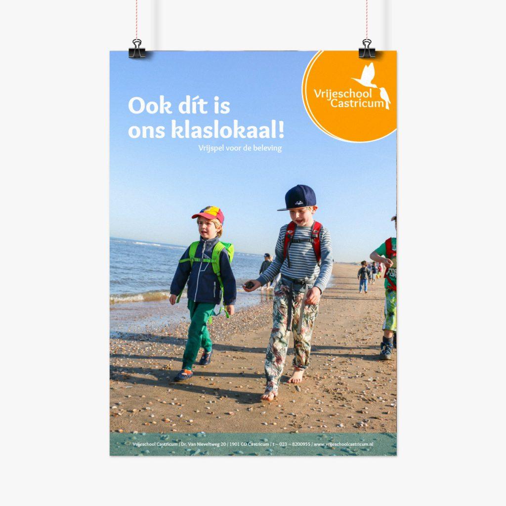 poster van de vrijeschool castricum