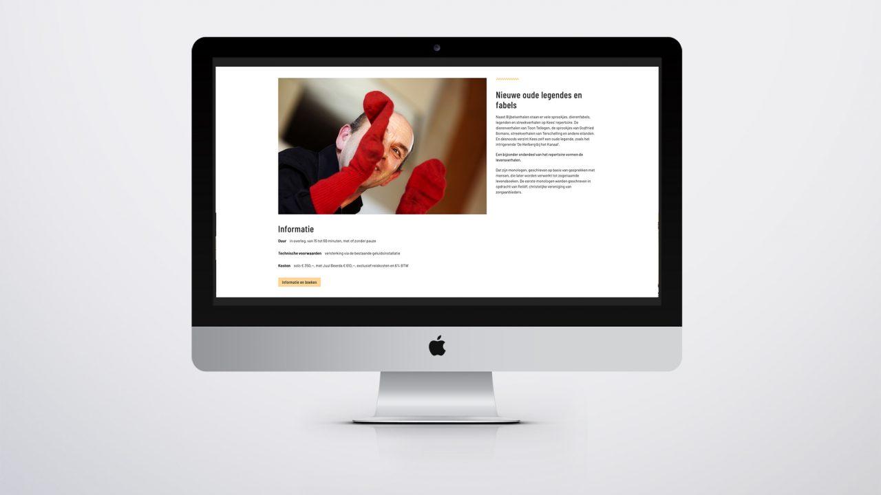 ontwerp website kees posthumus