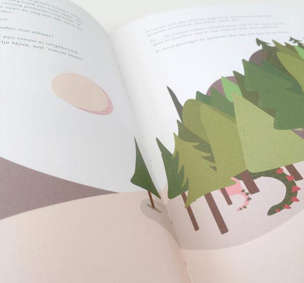 kinderboek het groene draakje studio koester booster